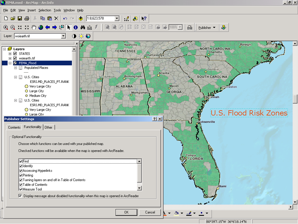 GIS Consulting screen shot